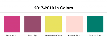 in color 2017 2019